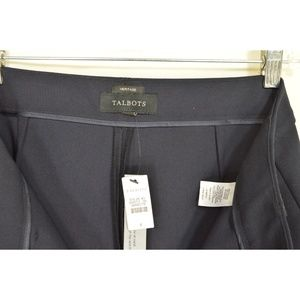 Talbots Pants - Talbots pants SZ 8 x 33 NWT Heritage navy stretch